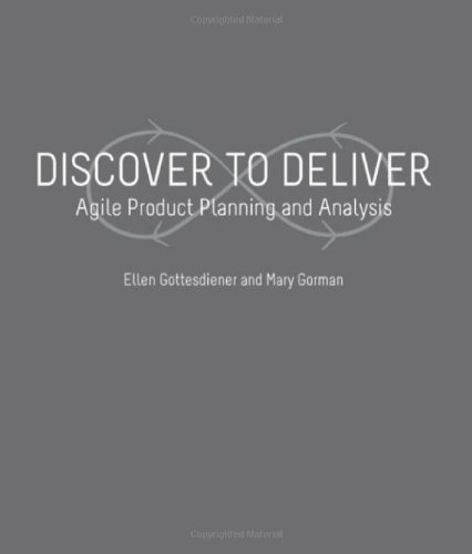 Discover to Deliver - Agile Product Planning and Analyis